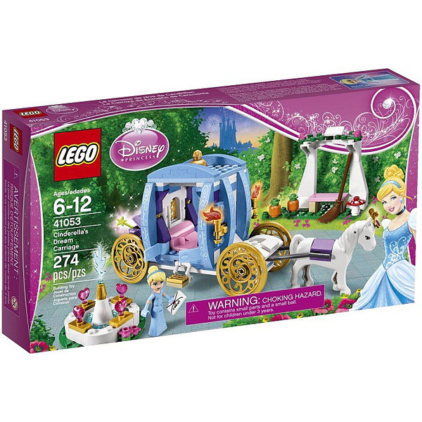【LEGO 樂高 積木】41053 得寶 duplo 幼兒系列 仙履奇緣 Cinderella s Dream Carriage