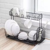 日式 廚房碗架瀝水架 水槽碗碟收納架多功能碗筷置物架碗櫃瀝水籃DBS2018-WC-48