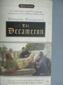 【書寶二手書T3/原文小說_KNJ】The Decameron_Boccaccio, Giovanni