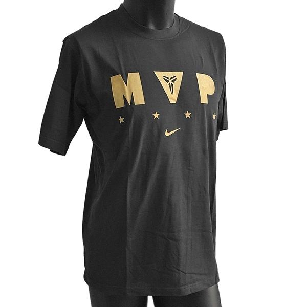 Nike Kobe MVP [394939-010] 男 T恤 KOBE 黑曼巴 冠軍 絕版 紀念款 黑金