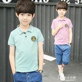 童裝男童夏裝套裝中大童兒童短袖夏季韓版男孩帥氣洋氣 東京衣秀