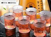 玻璃杯家用套裝耐高溫加厚防爆水杯大容量歐式水壺茶杯果汁啤酒杯