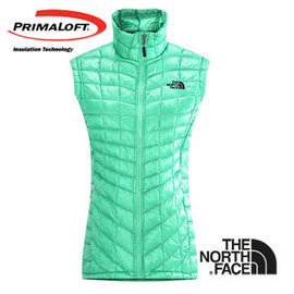 The North Face 女 PrimaLoft ® ThermoBall™ 保暖背心 浪花綠 CUD6