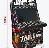 月光寶盒雙人街機格斗機98搖桿爭霸家用街機街霸兒童投幣游戲機TA2501【極致男人】