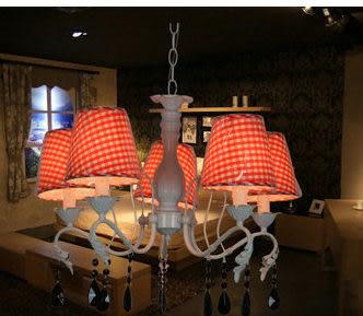 設計師美術精品館北歐宜家5頭黑色水晶吊燈布藝吊燈臥室吊燈餐廳吊燈新款特價