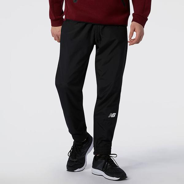 New Balance Tenacity 男裝 長褲 錐形褲 休閒 健身 訓練 速乾 黑【運動世界】MP13011BK