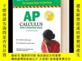 二手書博民逛書店AP罕見Calculus With 8 Practice Tes
