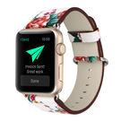 2017 新款 蘋果 手表 田園風 表帶 apple watch 真皮表帶  iwatch 表帶
