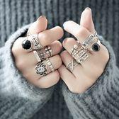 S925純銀食指戒指女士潮人大氣泰銀誇張關節潮流時尚尾戒韓國飾品  居家物語