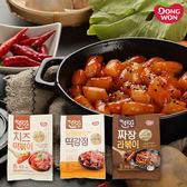 韓國 東遠DONG WON辣炒年糕&泡麵 年糕麵料理包 2人份 【庫奇小舖】