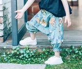 全館85折2-5歲女寶寶薄款防蚊褲女童夏季韓版中褲跨褲女嬰兒透氣大PP褲子3 森活雜貨
