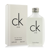 Calvin Klein CK ONE中性淡香水(100ml)-國際航空版
