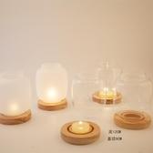 簡意空間 燭臺 創意燭臺 磨砂玻璃燭臺