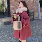 斗篷外套女 2020新款秋冬季流行赫本風中長款斗篷外套女裝小個子妮子大衣 HD