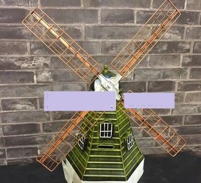 [協貿國際]   風車擺件咖啡廳擺件裝飾品  (1入)