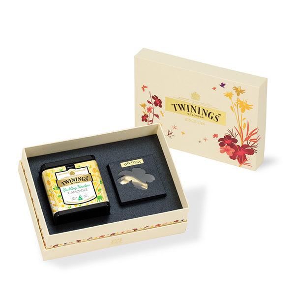 唐寧茶【Twinings】金綻花妍鉑金禮盒─晨光草原甘菊花茶