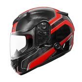 【ZEUS 瑞獅 ZS-1200E N41 紅 全罩 安全帽 航太材質 碳纖維 】內藏鏡片、免運費+贈好禮