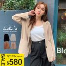 LULUS-Y翻領單釦薄料西裝外套-4色  【03190043】