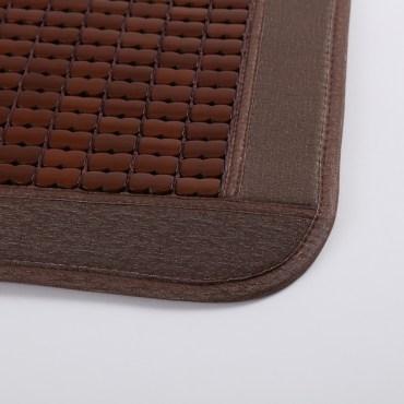 防蚊蟲碳化麻將竹餐椅墊43*43