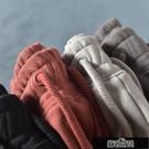 日系簡約針織毛圈短褲男夏季外貿剪標潮流學生寬松運動五分褲尾貨