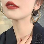耳環潮耳釘歐美風耳飾復古耳圈夸張個性女【貼身日記】