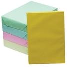 【奇奇文具】影印紙 110/ 70P / A4 淺黃 進口影印紙 (500張/包)