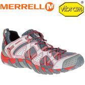 【MERRELL 美國 男款WATERPRO MAIPO 水陸兩棲運動鞋《淺灰/紅》】ML02341/水陸鞋/健行/運動鞋★滿額送