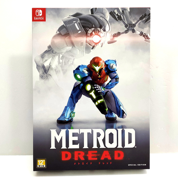 任天堂 NS Switch 密特羅德 生存恐懼 Metroid Dread 中文版 銀河戰士限定版+特典