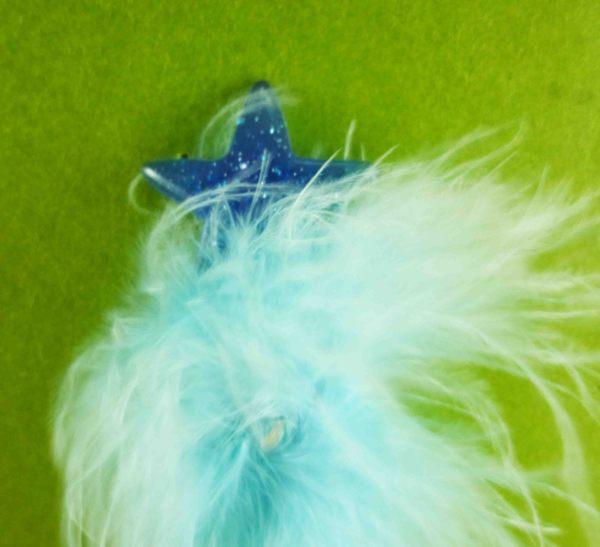 【震撼精品百貨】公主 系列Princess~絨毛原子筆-藍星