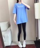 胖妹妹2019新款洋氣減齡印花大碼t恤女短袖遮肚上衣夏季寬松顯瘦-