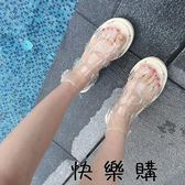 涼鞋透明海邊度假沙灘鞋女學生