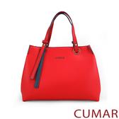 CUMAR 知性百搭手提斜背包-紅色