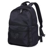 男士帆布雙肩包韓版潮休閒背包學生書包電腦包防水尼龍包旅行背包