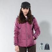 山力士 羽絨外套│防風│保暖│防潑水│假兩件式外套 PX321『淺紫』