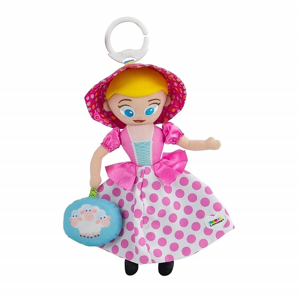 Lamaze拉梅茲 - 玩具總動員 牧羊女 Bo Peep 揉揉捏捏外出吊掛玩具