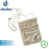 【Deuter 德國 Security Wallet II 隱藏式錢包《卡其》】3942116/防盜/側背包/貼身包/零錢包