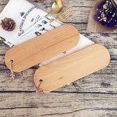 日式無漆櫸木砧板 壽司板盤實木面包板木水果板蛋糕盤木托盤 森活雜貨