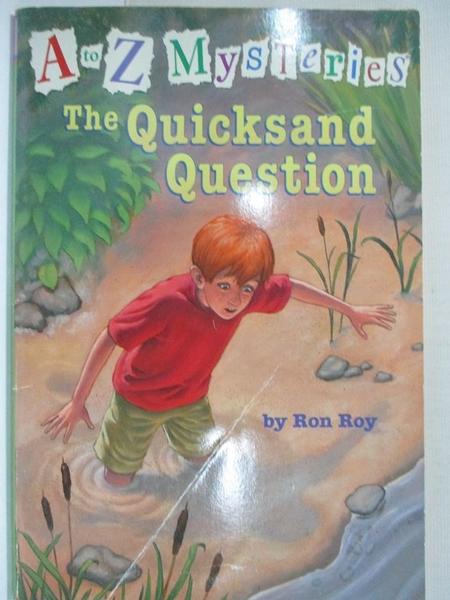 【書寶二手書T9/原文小說_HZX】The Quicksand Question_Roy, Ron/ Gurney, John Steven (ILT)