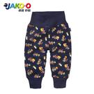 JAKO-O德國野酷-純棉高腰加厚長褲-海軍藍