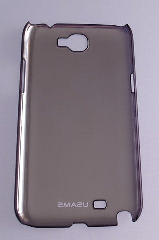 USAMS Samsung GALAXY Note II(GT-N7100) 專用 保護殼/保護套/背蓋/殼/手機殼/硬殼 光影系列 紫