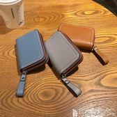 識別證套 卡包女式多卡位韓國可愛個性迷你超薄風琴卡包真皮時尚駕駛證套潮 寶貝計畫