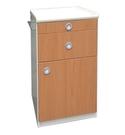 木質紋路ABS床頭櫃 /醫院床旁櫃...