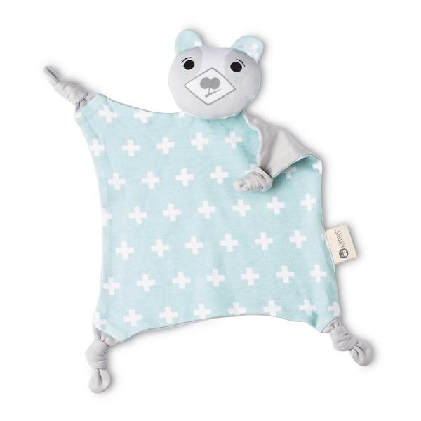 澳洲 Kippins 有機棉安撫巾 比利小熊