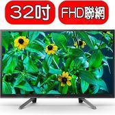 SONY電視【KDL-32W610G】32吋聯網電視