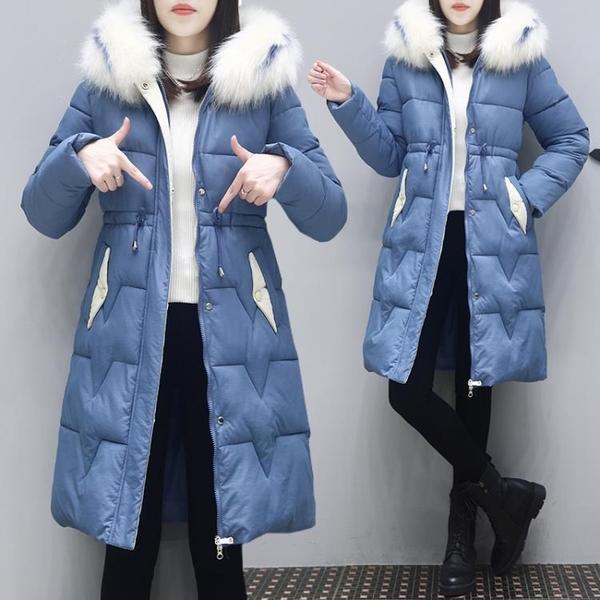 羽絨服 冬季棉服女冬裝棉衣女2019新正韓中長款羽絨棉襖修身爆款外套【快速出貨】