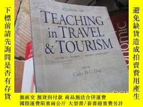 二手書博民逛書店teaching罕見in travel tourism volu