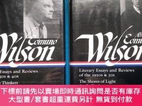 二手書博民逛書店Edmund罕見Wilson: Literary Essays and Reviews: The Shores O