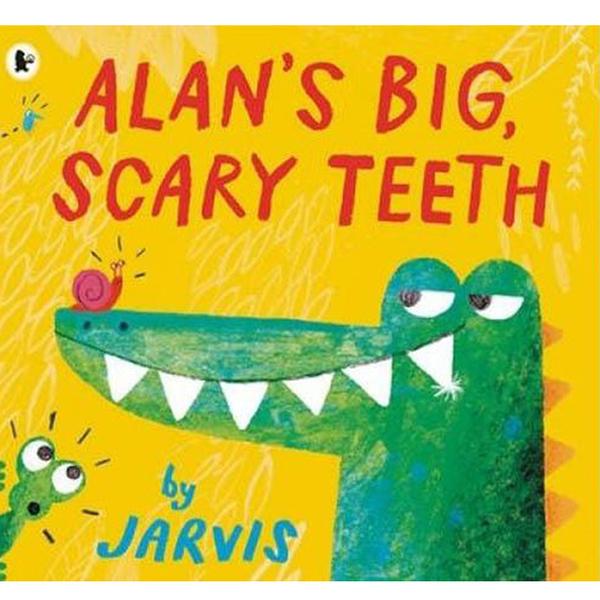 Alan's Big, Scary Teeth 鱷魚艾倫又大又可怕的牙齒平裝繪本