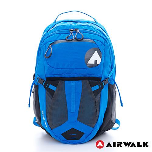 AIRWALK 謢脊胸腰扣越野用筆電後背包【愛買】