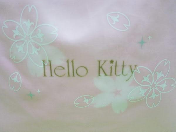 【震撼精品百貨】Hello Kitty 凱蒂貓~手提袋『粉底櫻花』
